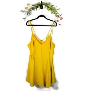 5 for $30 Forever 21 Dress Plus Size 2X Yellow EUC